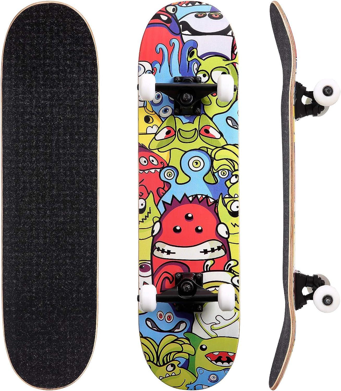 HOMPLYS Popular product Skateboards for Beginners 31