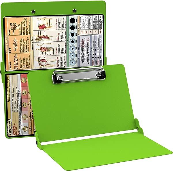 WhiteCoat Clipboard Lime Green Nursing Edition