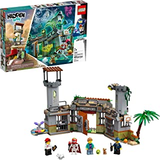LEGO Hidden Side Newbury Abandoned Prison 70435, Augmented Reality App-Driven Ghost Hunting Toy, Includes Jack, Rami, El F...