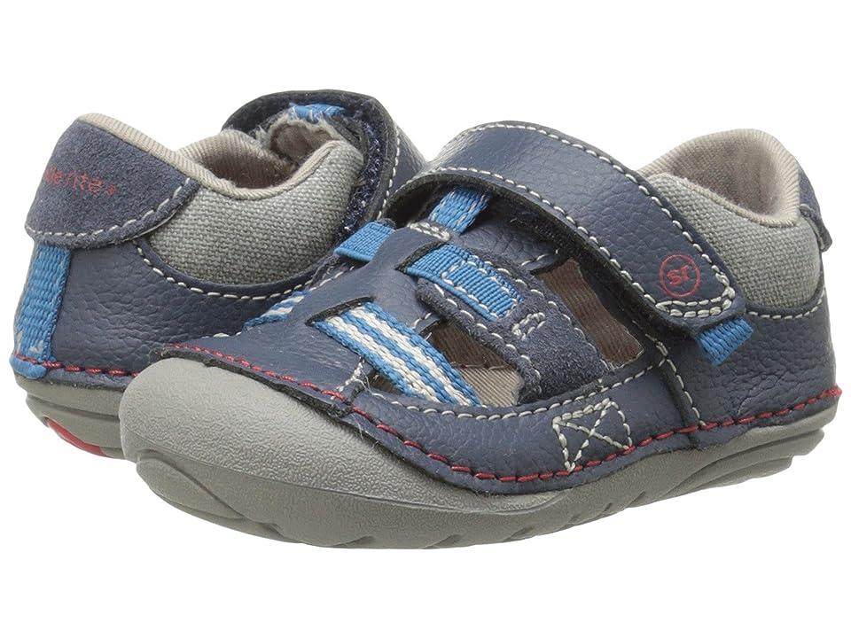 Stride Rite SRT SM Antonio (Infant/Toddler) (Navy) Boys Shoes
