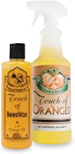 Orange Oil Wood Cleaner and Beeswax Furniture Polish, Restore Hardwood Floors, Cabinets, Tables, Antiques, Preserve and Protect with Touch of Oranges
