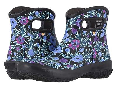 Bogs Patch Ankle Boot Vine Floral (Black Multi) Women