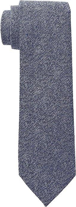 Silk-Blend Denim Tie