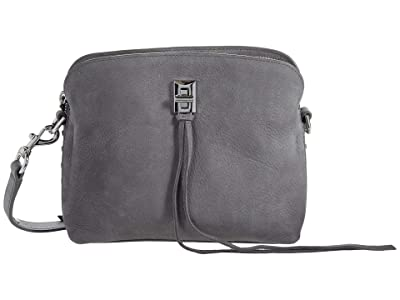 Rebecca Minkoff Darren Small Crossbody (Steel) Handbags