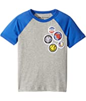 True Religion Kids - Patches Logo Tee Shirt (Toddler/Little Kids)