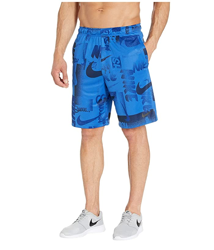 Nike Dry Shorts 4.0 All Over Print 1 (Game Royal/Black) Men