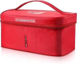 Bolsa Desinfectante UV Portátil, Bolsa Esterilizadora de Luz UV Mata 99,9% Sustancias Nocivas, Limpiador UV para Reutilizar Máscaras/Cepillo de Dientes/Esterilización de Ropa Interior y Más