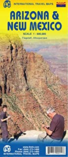 Arizona & New Mexico Travel Reference Map 1:900,000