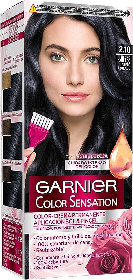 Garnier Color Sensation - Tinte Permanente Chocolate 4.15, disponible en más de 20 tonos