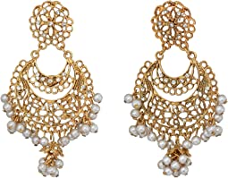 Antique Gold/Crystal/Pearl
