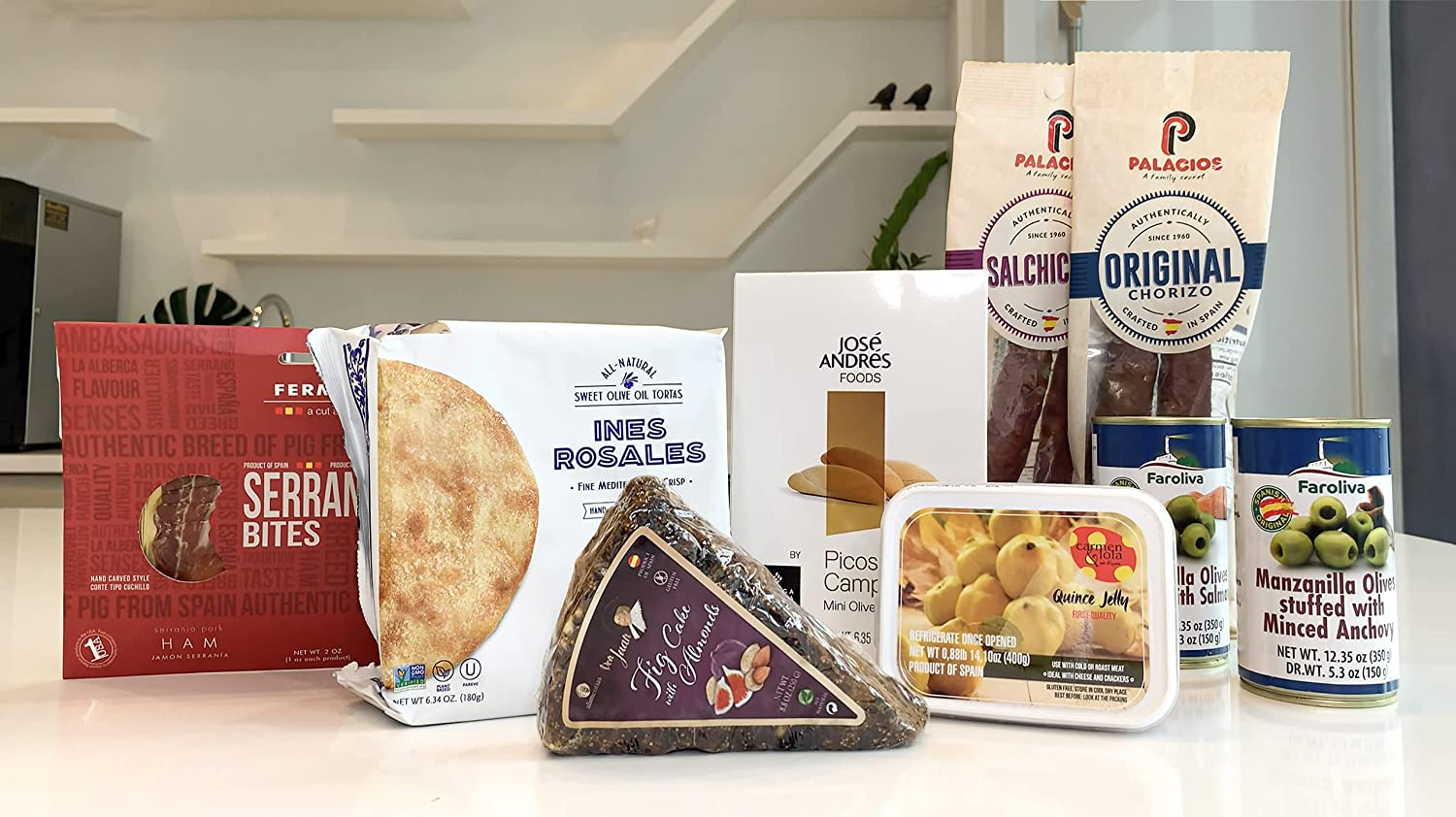 Spanish Fiesta Sampler Gourmet Selection Discount mail order - Gift S Box Today's only Includes