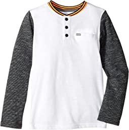 Hurley Kids - Baseball Raglan Knit Top (Little Kids)