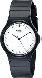 Casio Men's MQ24-7E Casual Watch With Black Resin Band