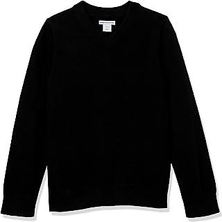 Haokaini Kids Girls Boy Long Sleeve Sweater Knit Jumper Pullover Knitwear Turtleneck Winter Sweatshirt Crew Neck Tops Warm Outwear Age 2 3 4 5 6 Years