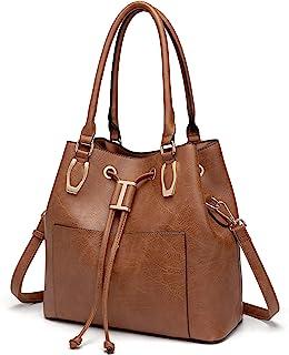LJOSEIND Women's Handbags Designer Hobo Bags Large Shoulder Purses Satchel Crossbody Bucket Bags