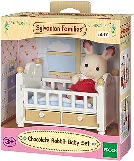 Sylvanian Families Chocolate Rabbit Baby Set, Multi-Colour, 5017