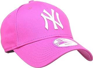 New Era Fashion Essential 940 New York Yankees Beyzbol Şapkası, Pembe, Tek Ebat