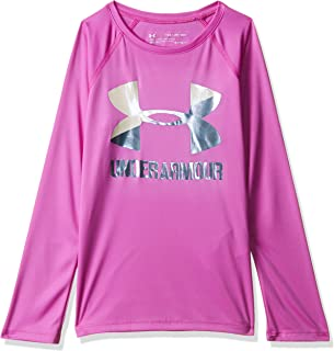 Under Armour Girls Big Logo Long Sleeve Shirt