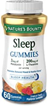 Melatonin by Nature's Bounty, 100% Drug Free Sleep Aid, Dietary Supplement, Promotes Relaxation and Sleep Health, 3mg Mela...
