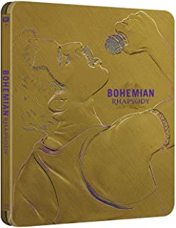 Bohemian Rhapsody Blu-Ray Steelbook [Blu-ray]