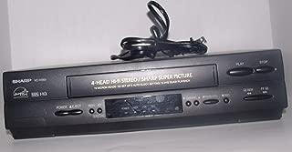 Sharp VCH810U 4-Head Hi-Fi VCR