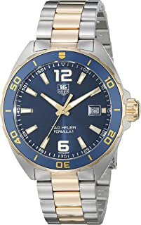 TAG Heuer Men's WAZ1120.BB0879 Formula 1 Analog Display Swiss QuartzTwo Tone Watch