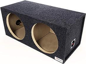"BBox E12D Dual 12"" Sealed Carpeted Subwoofer Enclosure"