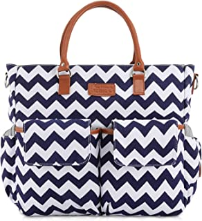 chevron baby changing bag