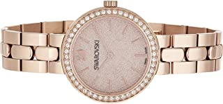 Swarovski Dress Watch Analog Display For Women 5182231, Gold Band