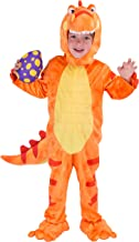Spooktacular Creations T-Rex Deluxe Kids Dinosaur Costume for Halloween Child Dinosaur Dress Up Party, Role Play and Cosplay