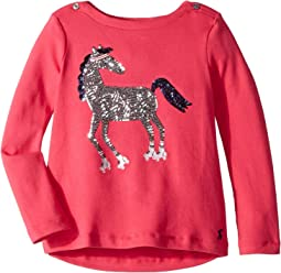 Sequin Graphic Top (Toddler/Little Kids)