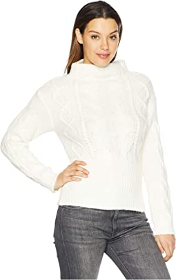 Long Sleeve Novelty Cable Knit Sweater