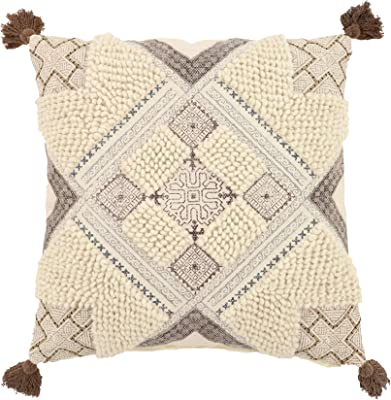 White 14.5 Pillow Department 56 Snowpinions Reindeer