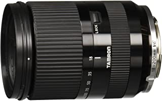 Tamron 18-200mm f/3.5-6.3 Di III VC Lens for EOS M Canon Cameras - 08970-00115-00