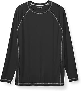 Amazon Essentials Men's Big & Tall Long-Sleeve Quick-Dry UPF 50 Swim Tee fit by DXL