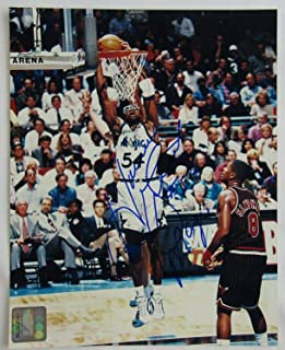 Signed Horace Grant Photo - Autograph 8x10 II - Autographed NBA Photos