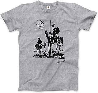 Pablo Picasso Don Quixote, Sancho Panza y Roncinante T-Shirt (Short & Long Sleeve)