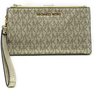 Michael Kors Women's Jet Set Travel Double Zip Wristlet