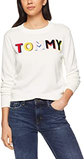 TOMMY HILFIGER Women's Organic Cotton Longline Jumper