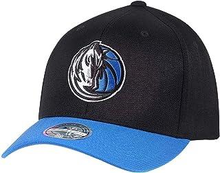 the latest 369b6 5910a Mitchell   Ness Dallas Mavericks INTL285 2 Tone 110 Curved NBA Flexfit Snapback  Cap One Size