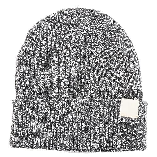 2eba3e7237f4d BYOS Unisex Winter Fall Urban Ribbed Beanie Fisherman Knit Skull Ski Hat