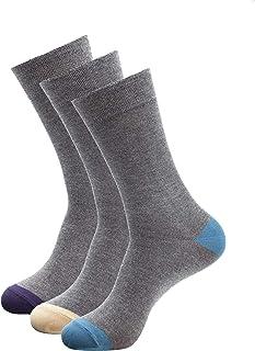 1Sock2Sock Men's Bamboo Thin Crew Socks - Super Soft