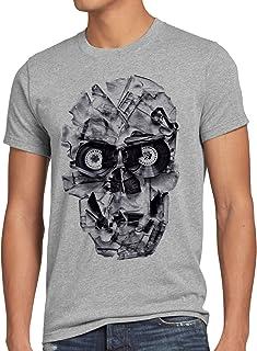 af8ac9d30 Amazon.es: camisetas calaveras hombre - Gris