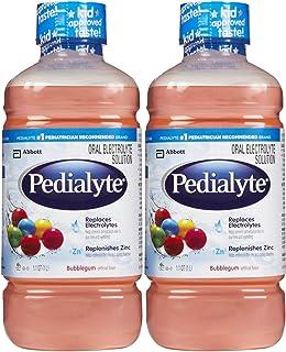 Pedialyte Oral Electrolyte Solution - Bubble Gum - 1 lt - 2 pk