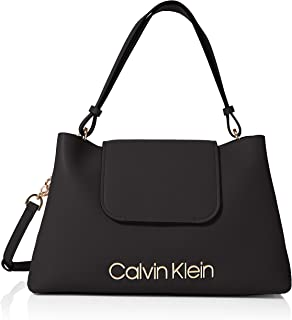 Calvin Klein Satchel for Women-Black