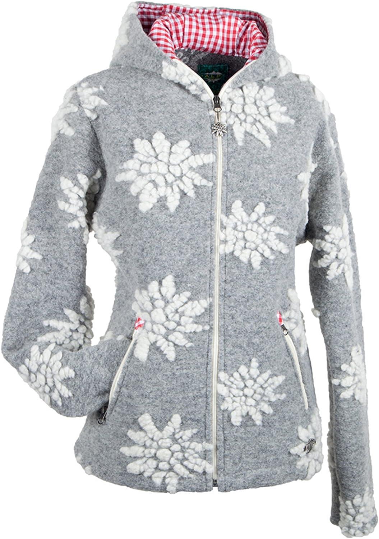 Alp by Brush Ladies WashableWoolFantasy Jacket with Hood