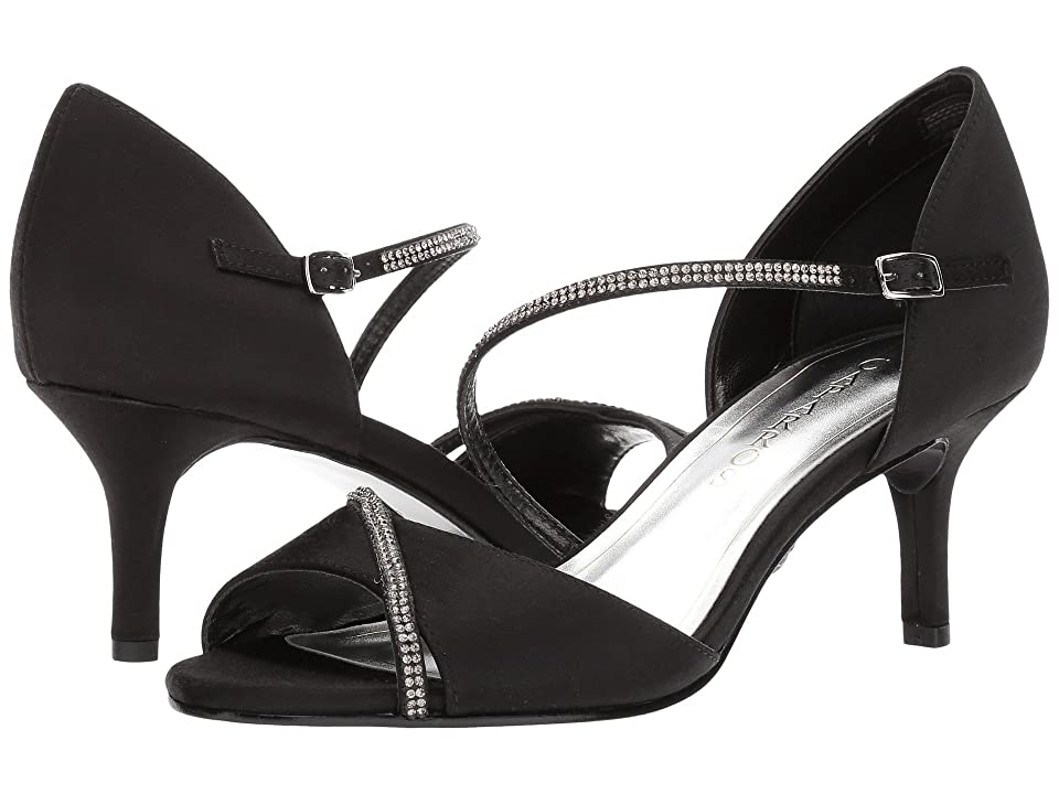 Caparros Imax (Black Satin) High Heels