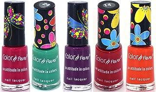 Color Fever Muti Shine Nail Lacquer, Color Slush, 25ml (Pack of 5)