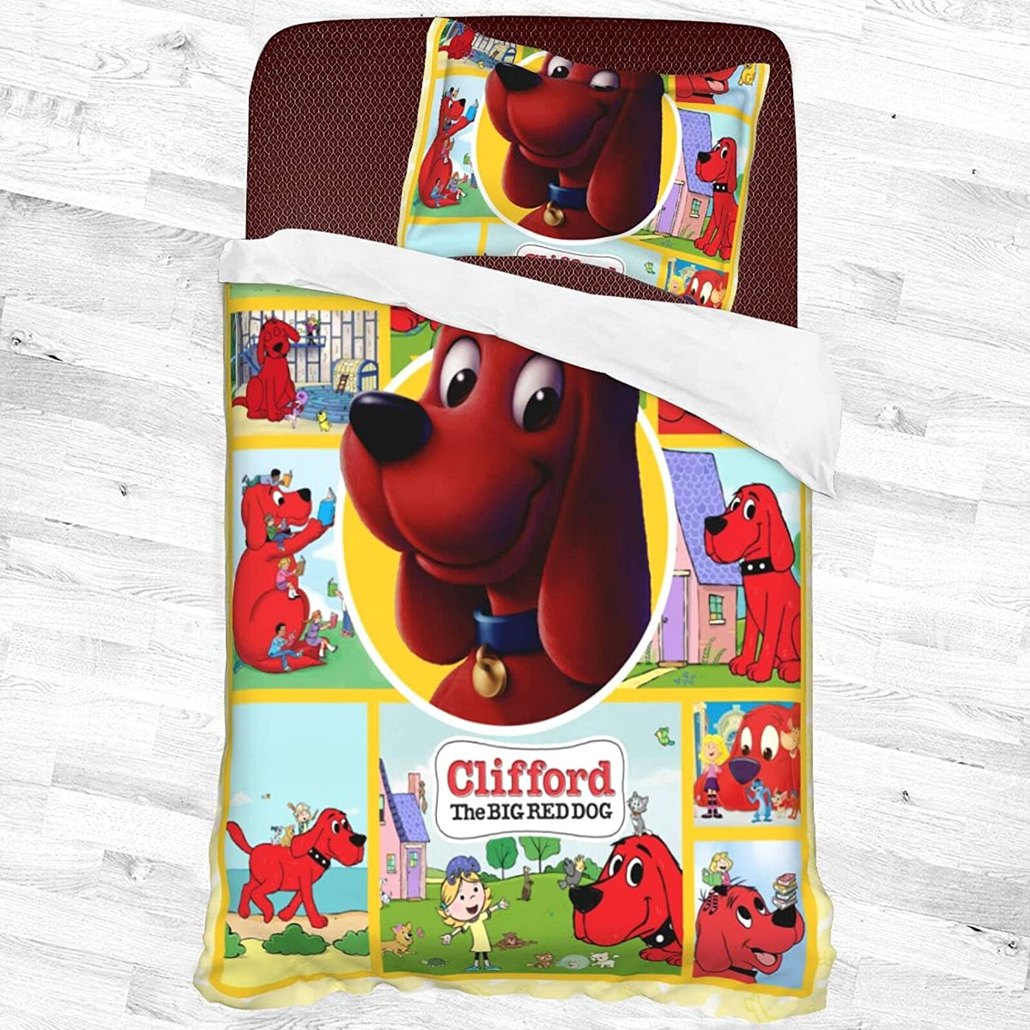 Cli.Ffo.Rd The Big Red Ranking TOP12 Dog Decorative Piece Bedding with Max 46% OFF Set 2 1