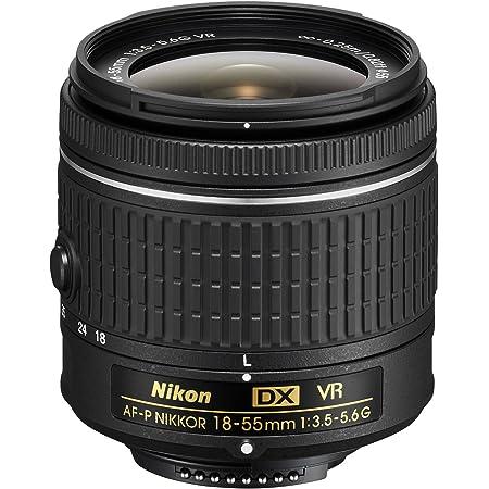 Nikon 18-55 mm f/3.5 - 5.6G VR AF-P DX Nikkor Lente para cámara (reacondicionado)